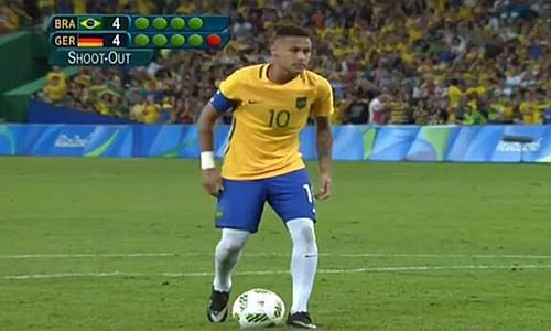 里约奥运会男足决赛巴西VS德国全场录像:内马尔致胜点球 成夺冠第一英雄