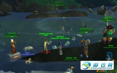 魔兽7.0黑暗神殿之战的传送门在哪 惹错了对象的任务怪坐标图片