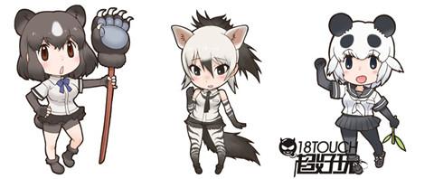 并将这些可爱动物拟人化登场的一款新作角色扮演游戏
