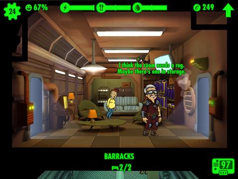 Fallout Shelter 辐射避难所玩法攻略