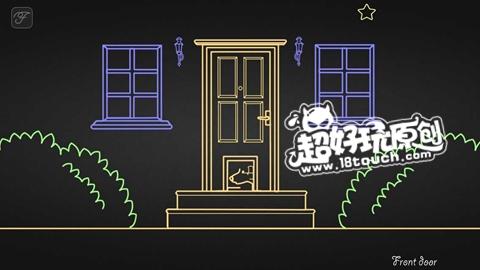 find the line第二章第1关前门狗通关攻略 (3).jpg