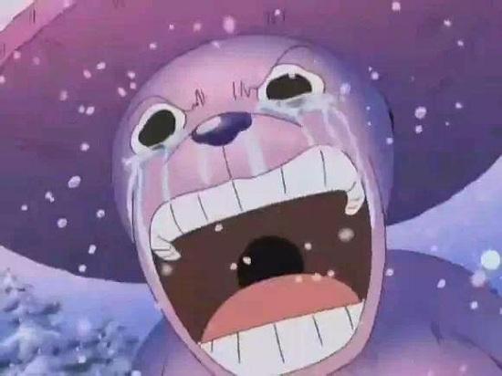 乔巴哭泣的可爱图