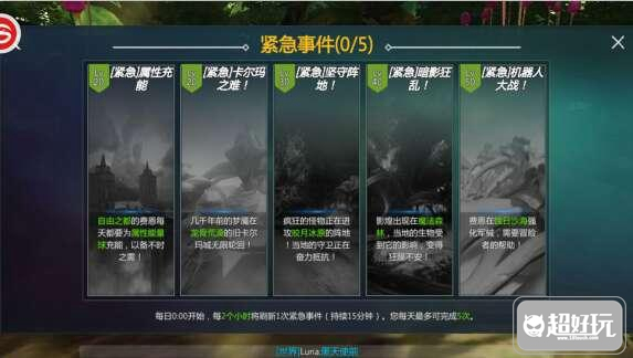 剑与魔法紧急事件活动怎么玩   紧急事件玩法攻略  紧急事件列表