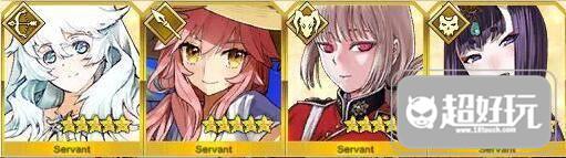 FateGrand Order五星从者排行 排行榜单一览