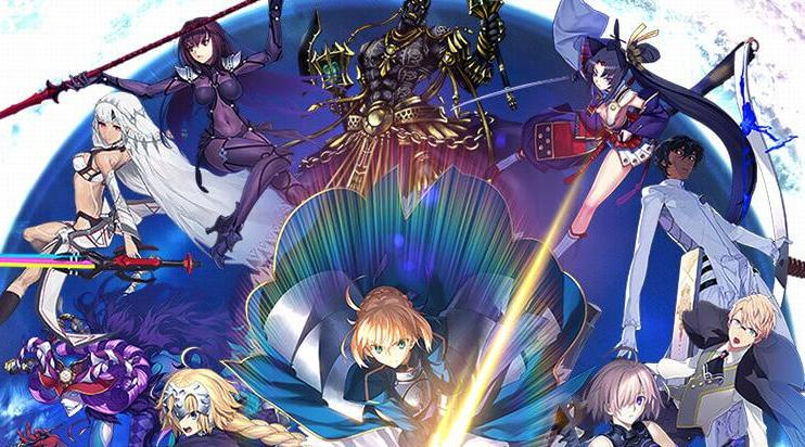 《fategrand order》一可游戏评测视频