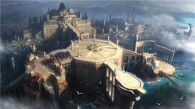 图二:恢弘的雅典卫城惨遭叛军包围.jpg
