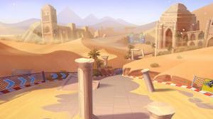 QQ飞车手游:可别小看这个时之沙赛道,这些难点你一定要注意