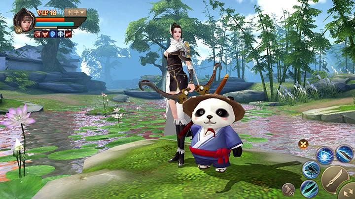 与萌宠共闯江湖 《刀剑斗神传》新宠物系统上线
