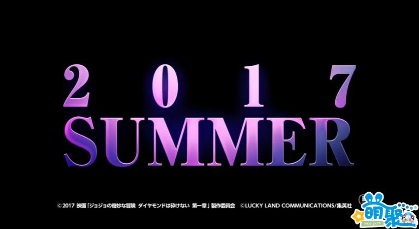 《JOJO的奇妙冒险》真人电影首次公开特报影像 2017年夏季上映!7